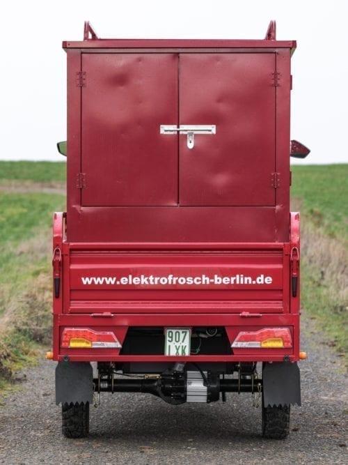 Elektrofrosch Elektro Kleintransporter Transportbox