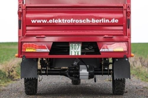 Elektrofrosch Elektro Kleintransporter Motor