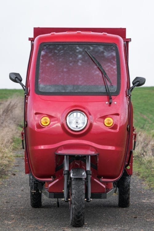 Elektrofrosch Elektro Kleintransporter