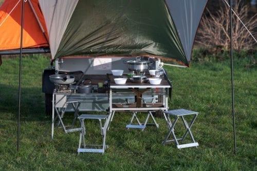 Elektrofrosch Camping Küchenmodul
