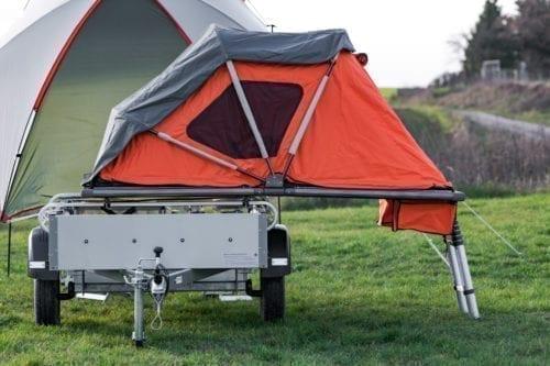 Elektrofrosch Camping Zelt