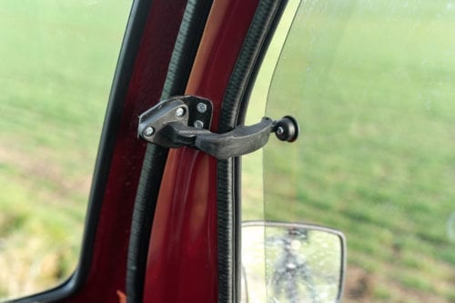 Elektrofrosch Elektro Kleintransporter PRO Kabinenfenster