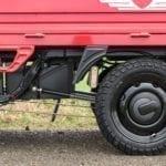 Elektrofrosch Elektro Kleintransporter PRO Räder