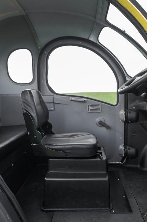 Elektrofrosch Elektro Kabinenroller Fahrersitz