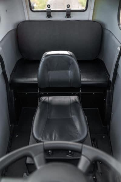Elektrofrosch Elektro Kabinenroller Sitze