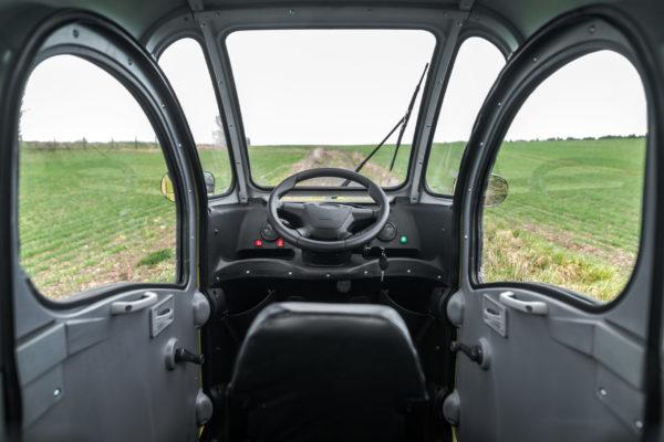 Elektrofrosch Elektro Kabinenroller Sichtfeld