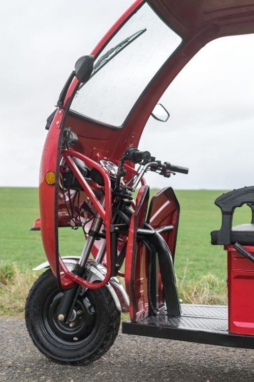 Elektrofrosch Elektro Kleintransporter Kabine