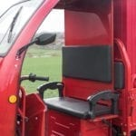 Elektrofrosch Elektro Kleintransporter Sitzbank