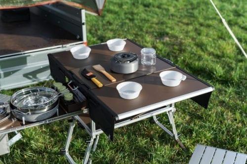 Elektrofrosch Camping