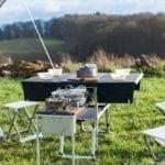Elektrofrosch Camping Küche