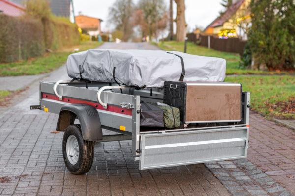 Elektrofrosch Camping Transportieren