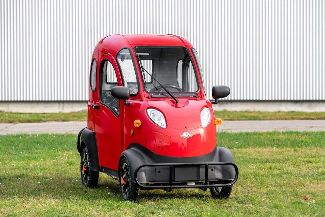 Elektrofrosch QUAD 5 - Elektro Kabinenroller - Günstige Modelle mit 3 und 4 Rädern.