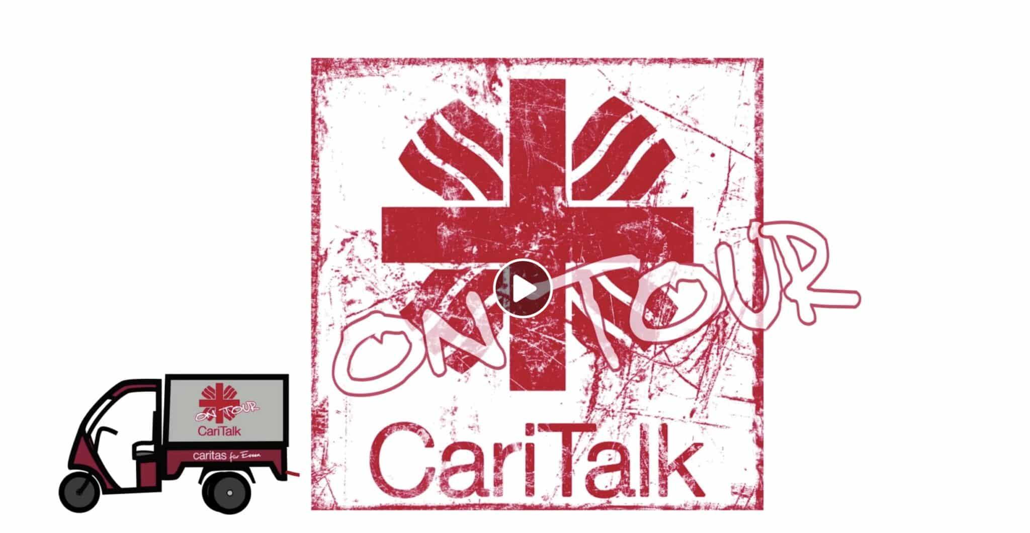 caritas elektrofrosch 2 scaled - Mit der Caritas Menschen erreichen