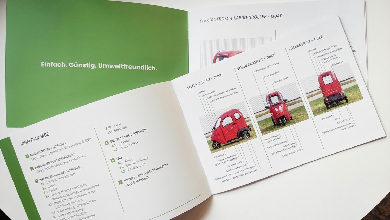 Elektrofrosch Anleitungen 2 - Neue Betriebsanleitungen