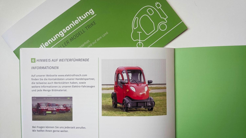 Elektrofrosch Anleitungen 4 - Neue Betriebsanleitungen